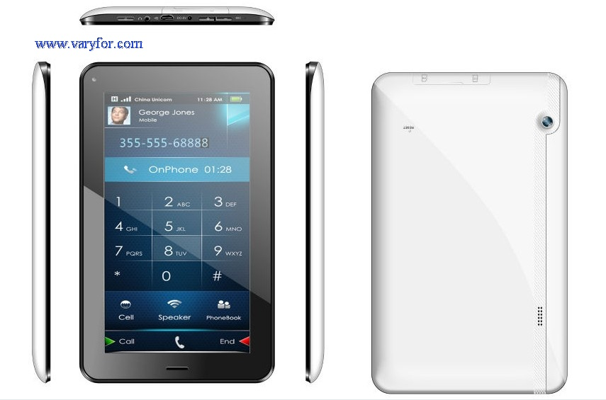 7 inch 2G phone call tablets pc Android pad